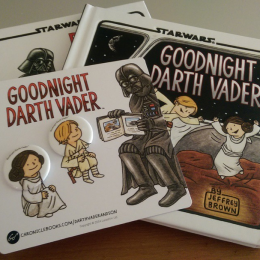 Goodnight Darth Vader Book & Pin Set Giveaway