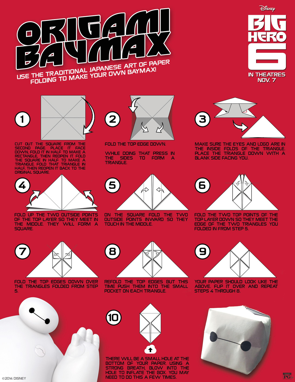 Free Big Hero 6 Activity Sheets, Science Experiments and ...