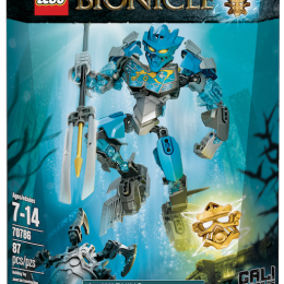 NEW LEGO BIONICLE JAN 2015 GALI MASTER OF WATER
