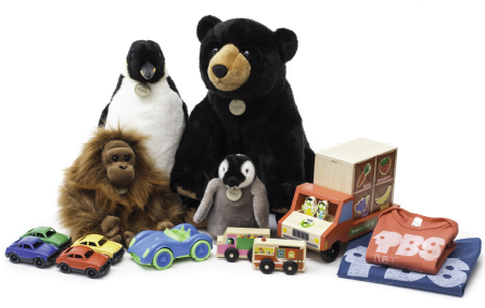 PBS Kids and Whole Foods Toy Line