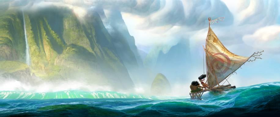 Walt Disney Moana 2016 Movie Art