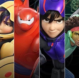 Big Hero 6 Is The Best Animated Movie of 2014