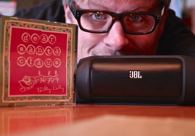 JBL Charge 2 Speakers Kindie Christmas Music Billy Kelly