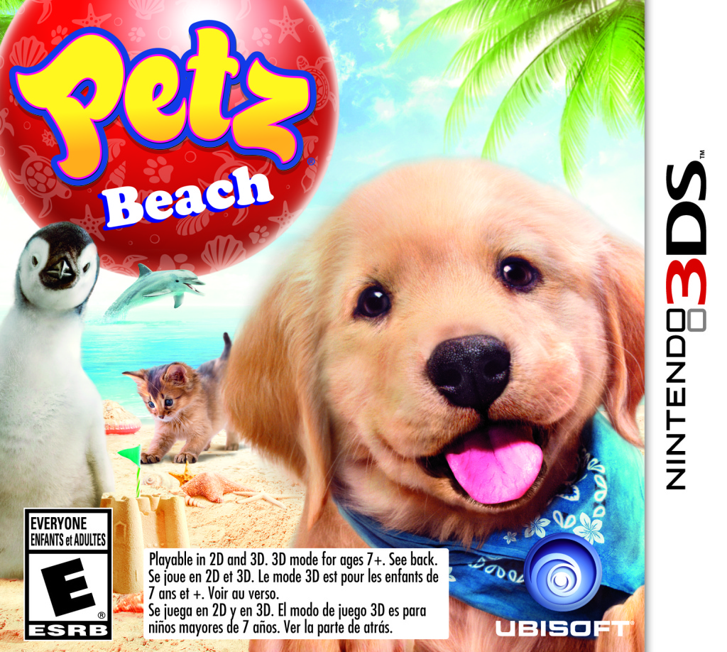 Petz Beach 3DS Review game cover