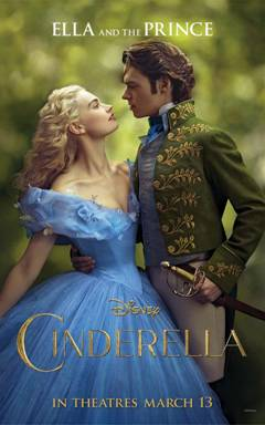 Cinderella Live Action Movie Poster Ella