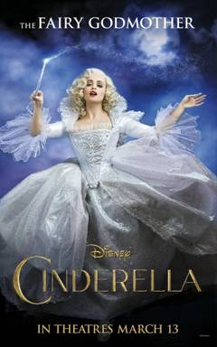 Cinderella Live Action Movie Poster Fairy Godmother
