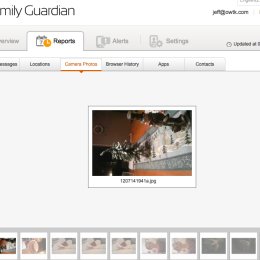 Family Guardian Camera Photos Screenshot