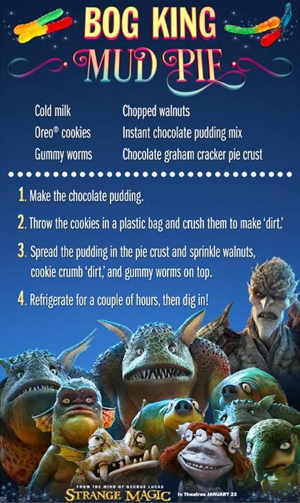 Strange Magic_Bog King Mud Pie Recipe