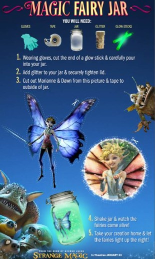 Free Strange Magic Recipes and Activity Sheets