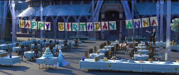 Frozen Fever Movie Screenshot Happy Birthday Anna