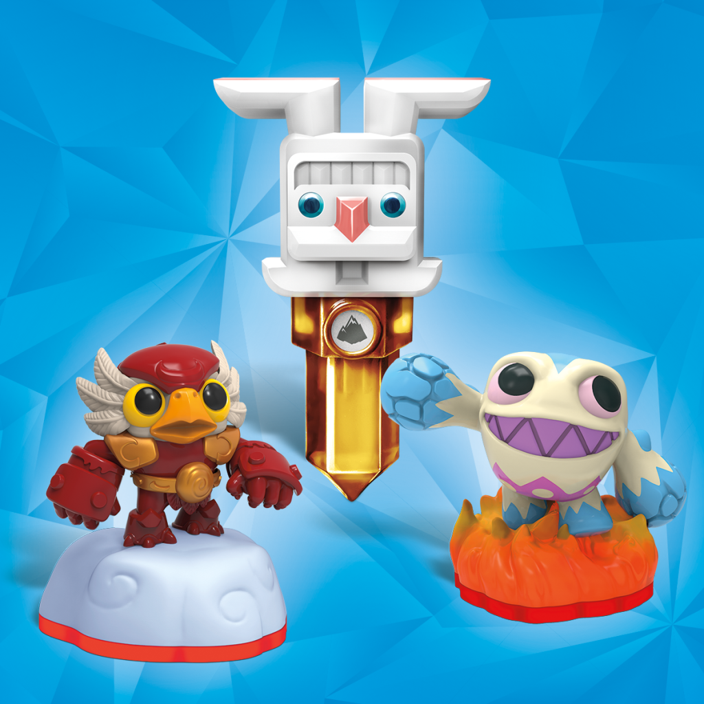 Skylanders Trap Team Spring 2015 Minis and Easter Bunny Trap