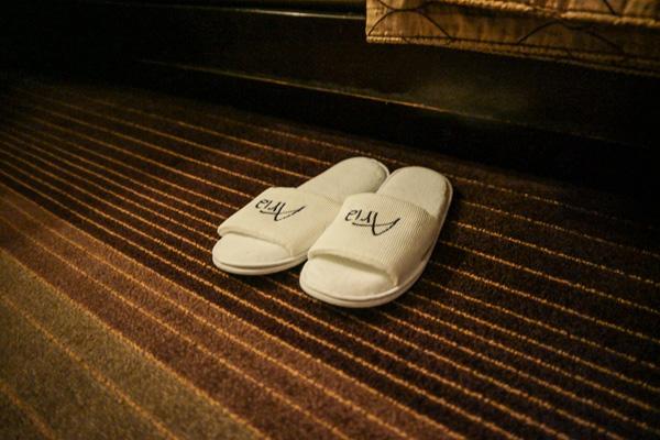 Aria Resort Las Vegas Turndown Service Slippers