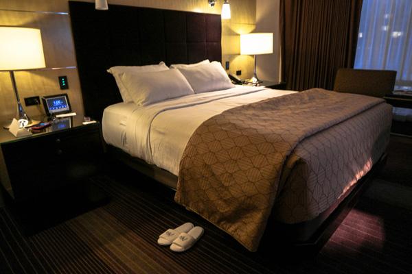 Aria Resort Las Vegas Turndown Service