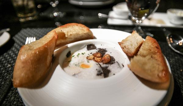Aria Resort Sage Restaurant Poached Egg