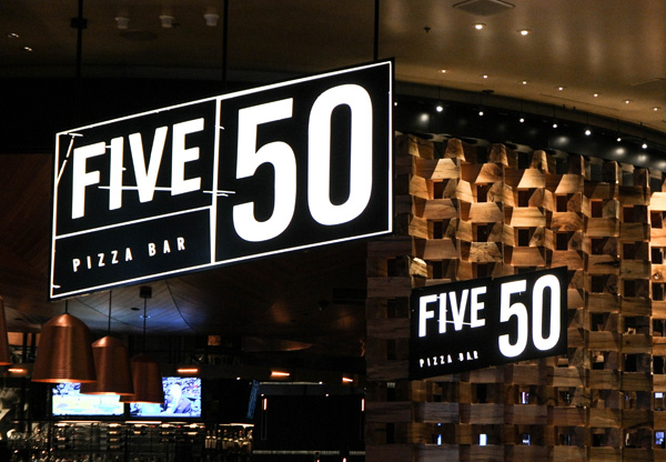 Aria Casino and Resort Five50 Restaurant