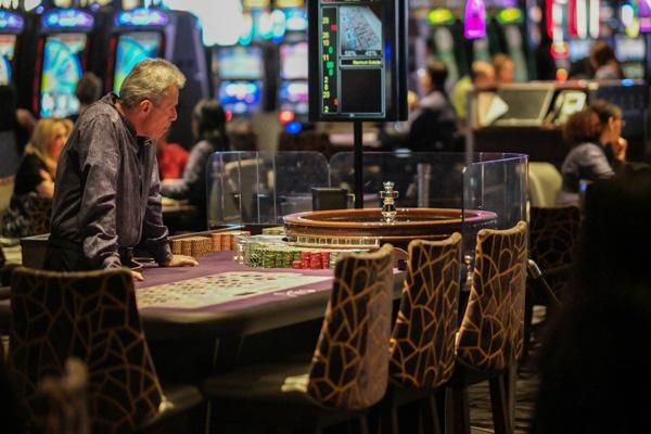 Aria Casino Roulette Table