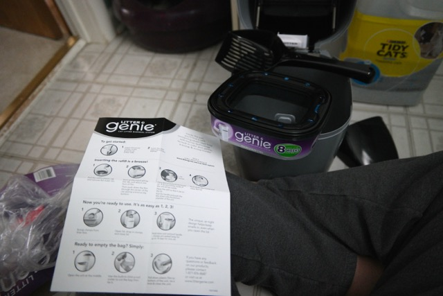 Litter Genie Product Shot Instructions Out With The Kids