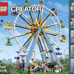 Breaking News: LEGO® Creator Ferris Wheel Announced