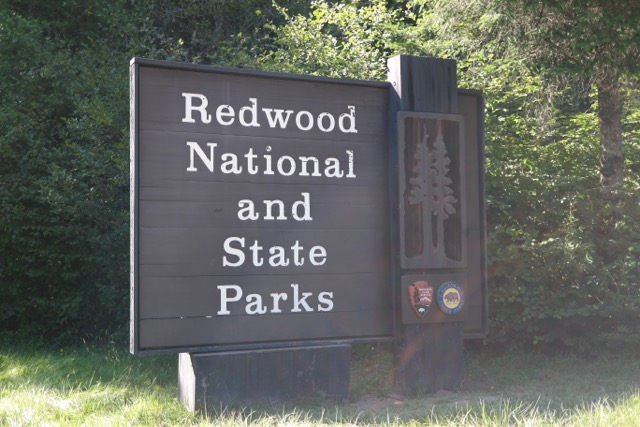 Redwood-National-and-State-Park-Sign