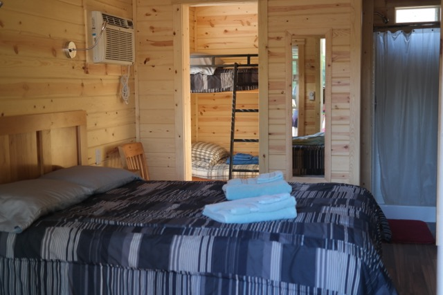 Redwoods-KOA-Cabin-Inside View