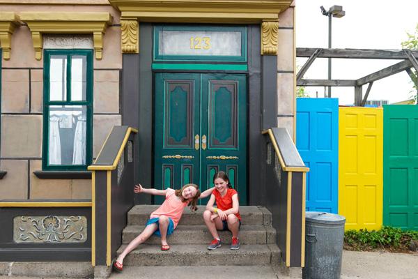 123 Sesame Street and the Bogle OWTK Girls at Sesame Place