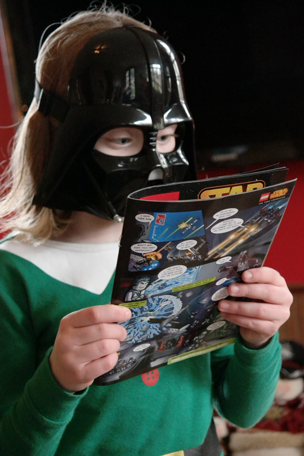 May the 4th Darth Vadar with Star Wars Comic