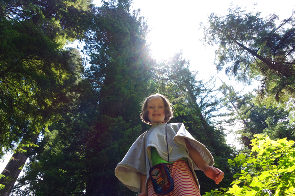 My Daughter glowing amongst the Redwood Trees_CA_Jeff Bogle NXMini Imagelogger