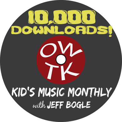 owtk kid's music monthly logo 10K download special