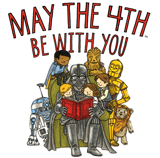 Chronicle Kids Star Wars May the 4th be with you
