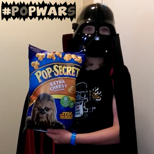 Life of Dad Pop Secret PopWars Darth Vader Popcorn