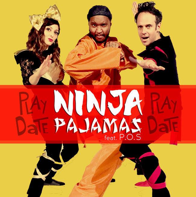 Play Date Toddler Royalty Ninja Pajamas