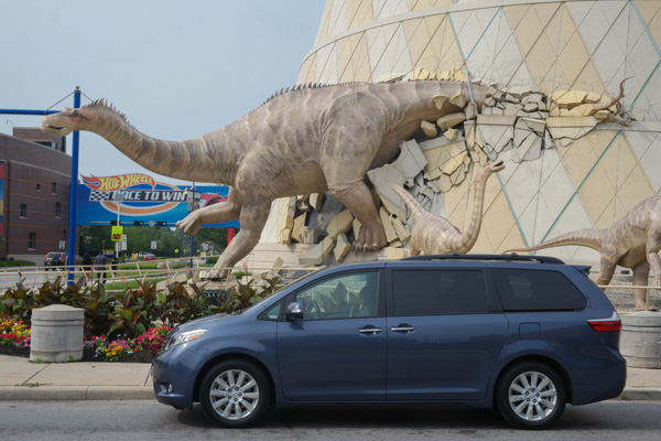Toyota Sienna at the Children's Museum of Indianapolis