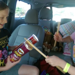 Summer Road Trip Jams with Pringles® Cans