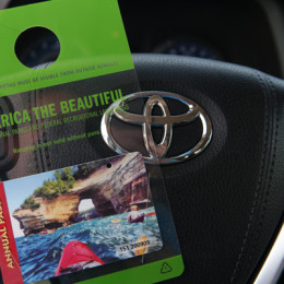 Toyota Sienna and the National parks Pass