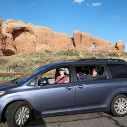 Sienna at Arches National Park Utah