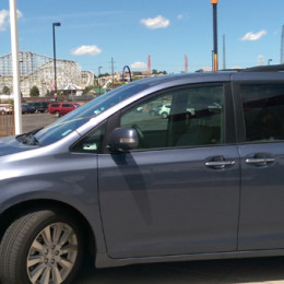 Toyota Sienna at Elitch Gardens Denver
