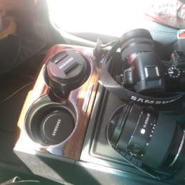 Sienna center console cameras