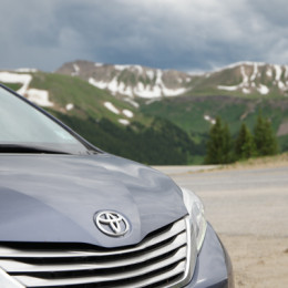 Toyota Sienna Cross Country Roadtrip in the Colorado Rockies