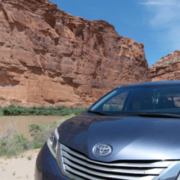 Toyota Sienna Cross Country Roadtrip along the Colorado RIver