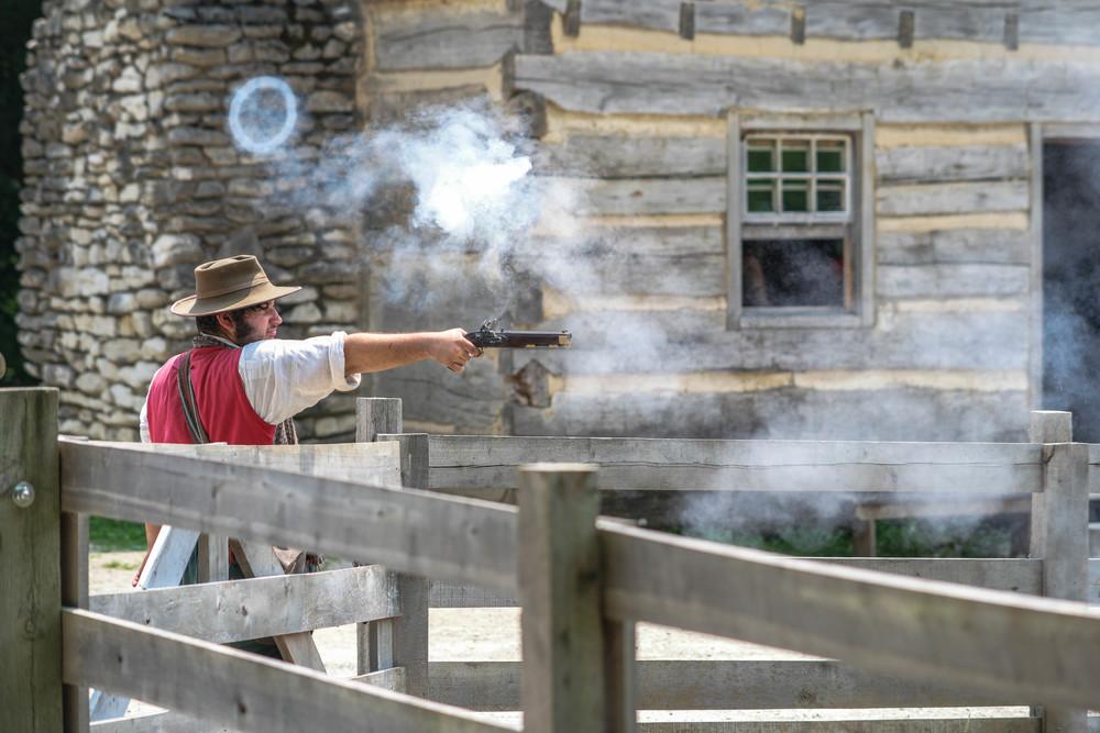 Gun control smoke ring