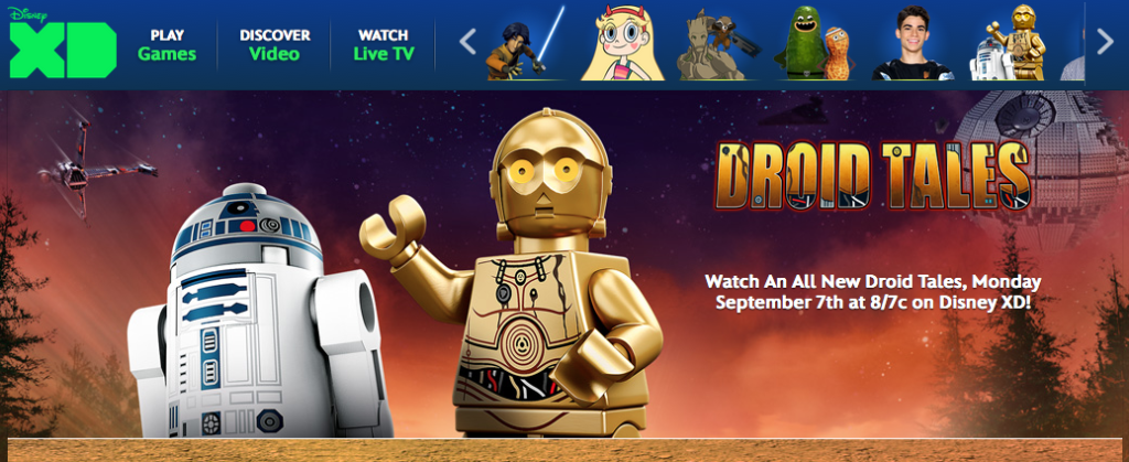 LEGO Star Wars Droid Tales Disney XD