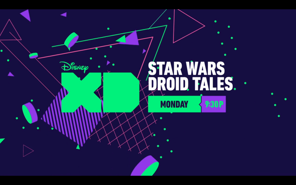 LEGO Star Wars Droid Tales Disney XD Title Screen