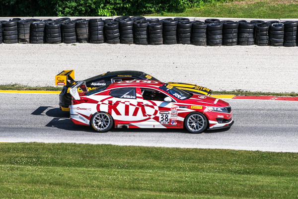 Looking foolish to the crowd_Kinetic Motorsports Kia Racing