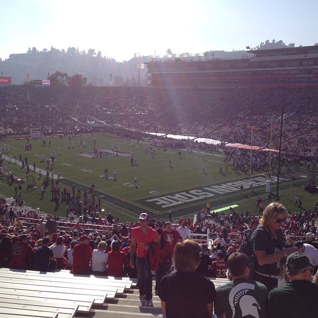 Michigan State Spartans 2014 Rose Bowl