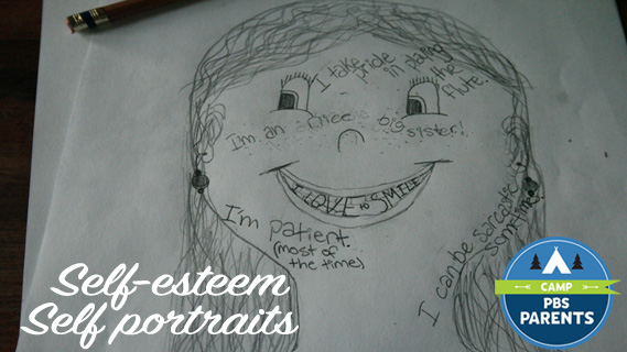 Self-Esteem Self Portrait PBS Parents