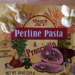Trader Joe's Recipe: Perline Pasta and Prosciutto in Maple Butter Sauce