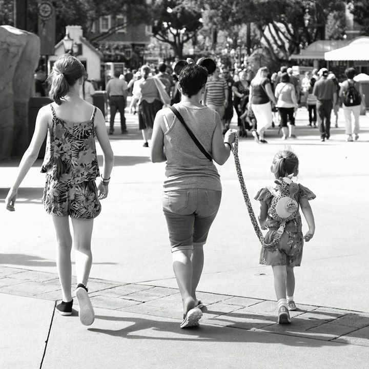 Child Leash at Disney World