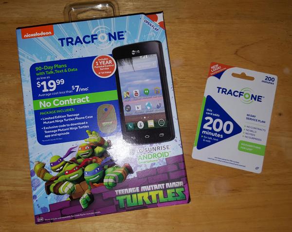 TMNT Tracfone Bundle