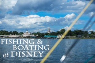 Boating and Fishing at Walt Disney World