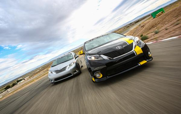 Toyota Real Performance Sienna Minivans
